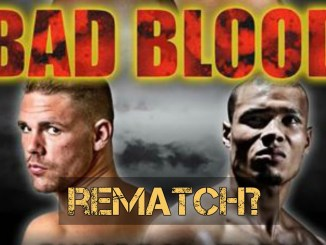 Billy Joe Saunders vs Chris Eubank Jr Poster