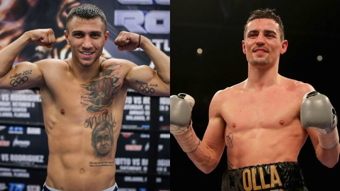 Vasiliy Lomachenko vs Anthony Crolla