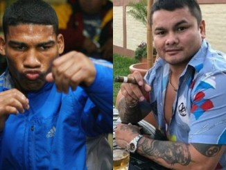 Yuriorkis Gamboa and Marcos Maidana