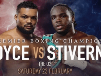 Joe Joyce vs Bermane Stiverne