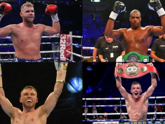 Billy Joe Saunders, Daniel Dubois, Carl Frampton and Josh Warrington.