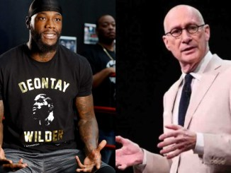 Deontay Wilder and John Skipper