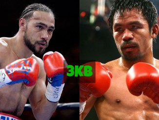 Keith Thurman and Manny Pacquiao