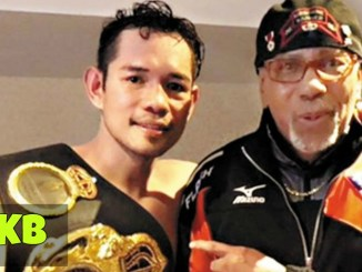 Nonito Donaire With Trainer Kenny Adams