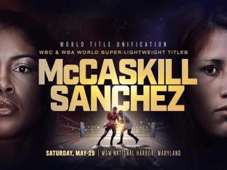 Jessica McCaskill vs Anahi Sanchez Banner
