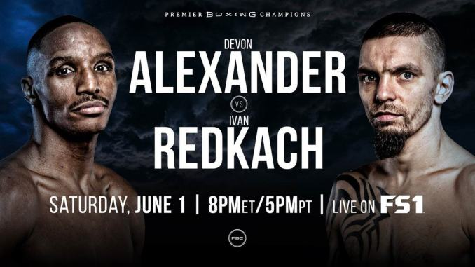Devon Alexander vs Ivan Redkach Banner