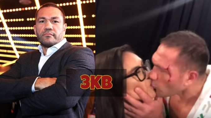 Kubrat Pulev Kissing Jenny Ravalo