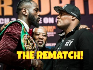 Deontay WIlder and Luis Ortiz Face-Off