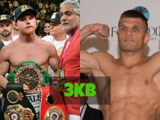 Canelo Alvarez vs Sergiy Derevyanchenko