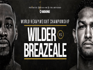 Deontay Wilder vs Dominic Breazeale Banner