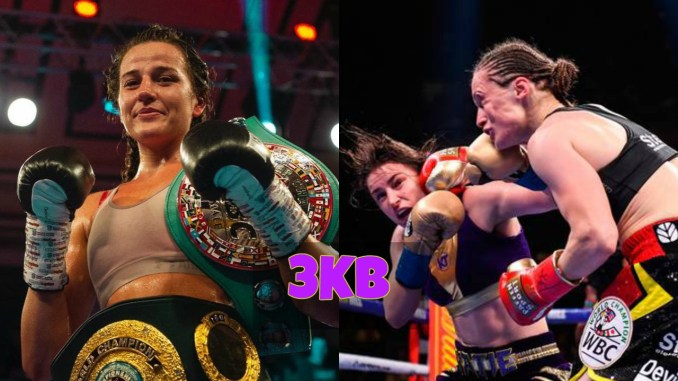 Chantelle Cameron and Katie Taylor vs Delfine Persoon