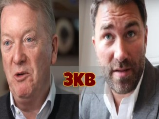 Frank Warren and Eddie Hearn