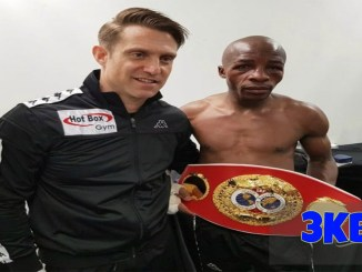 Moruti Mthalane With Trainer Colin Nathan