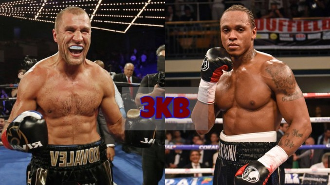 Segey Kovalev and Anthony Yarde