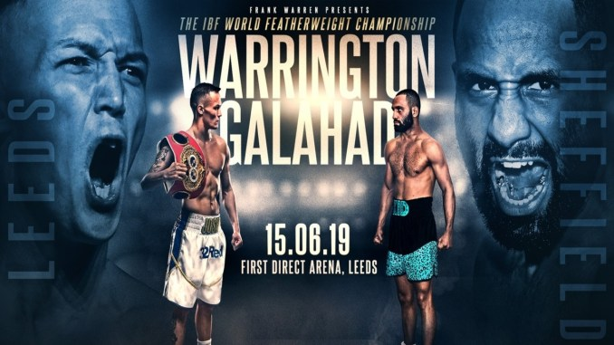 Josh Warrington vs Kid Galahad Poster