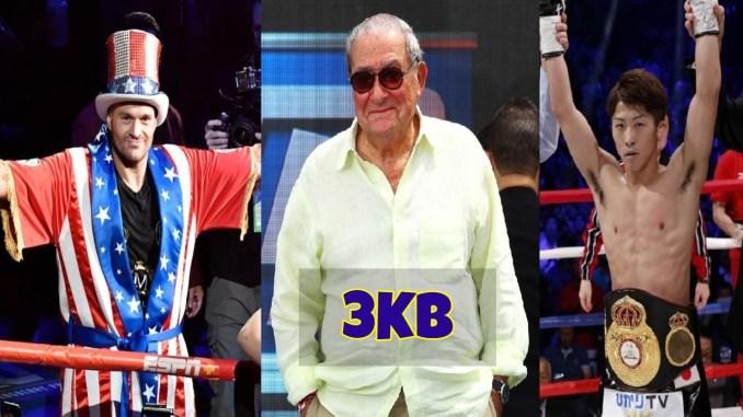 Tyson Fury, Bob Arum and Naoya Inoue