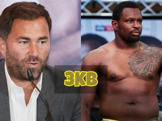 Eddie Hearn and DIllian Whyte