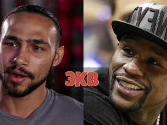 Keith Thurman and Floyd Mayweather