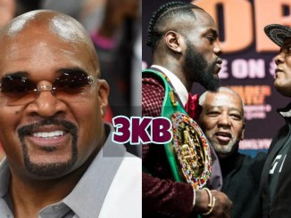 Leonard Ellerbe and Wilder vs Ortiz Stare-Down