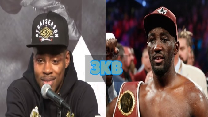 Errol Spence Jr and Terence Crawford