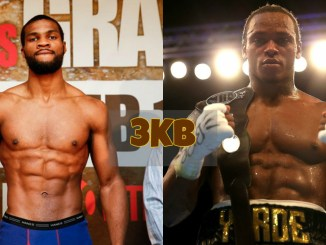 Marcus Browne and Anthony Yarde
