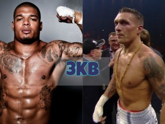 Tyrone Spong and Oleksandr Usyk
