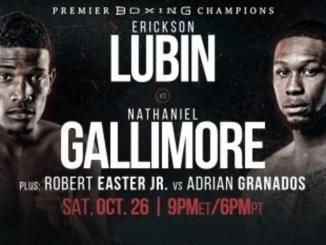 Lubin vs Gallimore banner