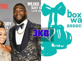 Deontay Wilder, Telli Swift and Boxing Wags Association
