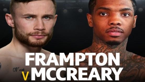 Carl Frampton vs Tyler McCreary