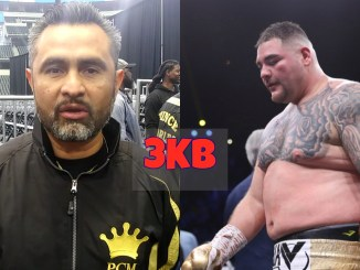 Manny Robles and Andy Ruiz