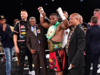 Thabiso Mchunu becomes WBC silver titlist