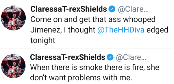 Claressa Shields via Twitter