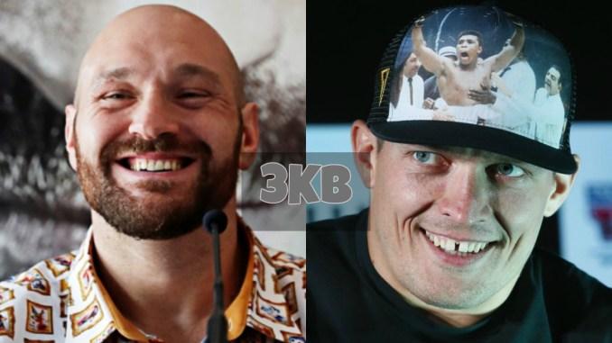 Tyson Fury and Oleksandr Usyk
