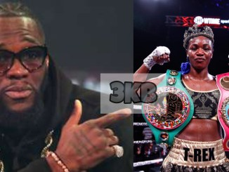 Deontay Wilder and Claressa Shields