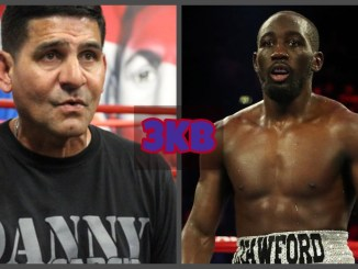 Angel Garcia, Terence Crawford (right)