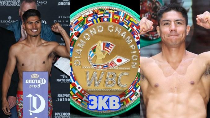 Mikey Garcia, WBC Diamond Belt and Jessie Vargas