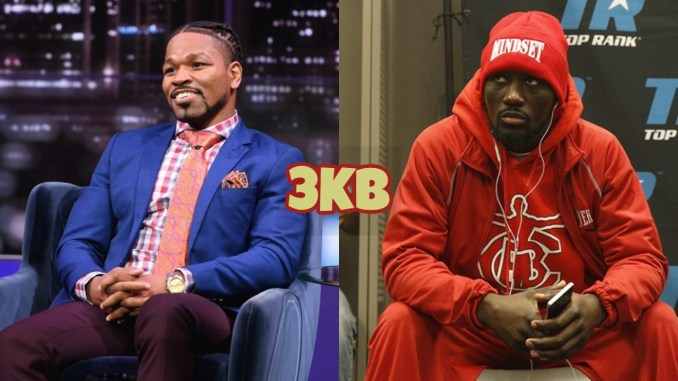 Shawn Porter (left), Terence Crawford