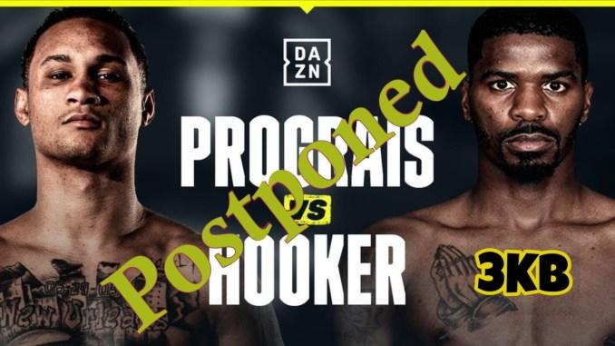Regis Prograis v Maurice Hooker Postponed Indefinitely