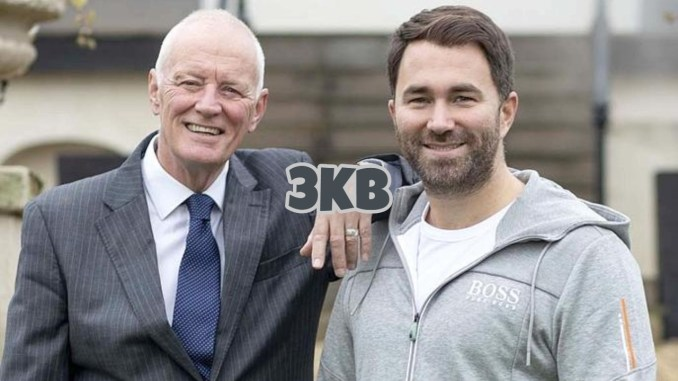 Barry Hearn (left) and Eddie Hearn