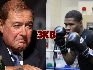 Bob Arum and Devin Haney