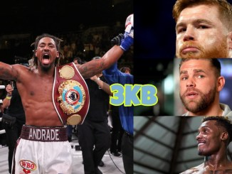Demetrius Andrade, Canelo Alvarez, Billy Joe Saunders and Jermall Charlo