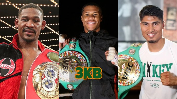 Daniel Jacobs, Devin Haney and Mikey Garcia