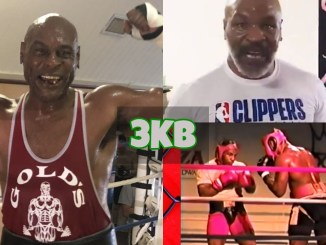 Oliver McCall and Mike Tyson
