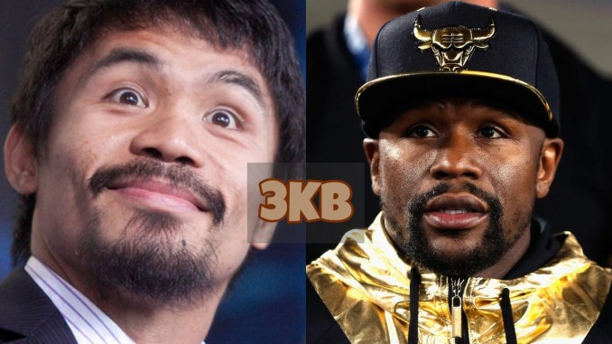 Manny Pacquiao and Floyd Mayweather Jr