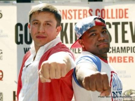 Gennady Golovkin and Curtis Stevens