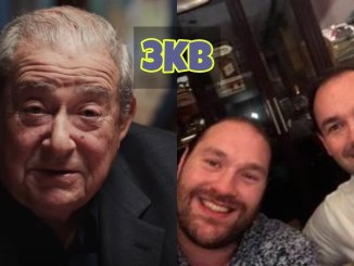 Bob Arum, Tyson Fury and Dan Kinahan