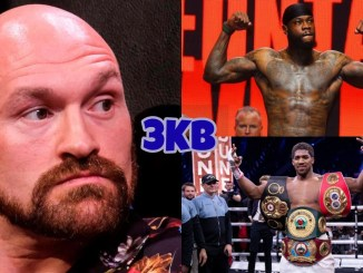 Tyson Fury, Deontay Wilder, Anthony Joshua