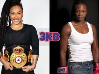 Hanna Gabriels (left) and Claressa Shields