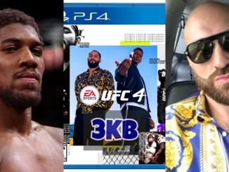 Anthony Joshua and Tyson Fury to appear in EA Sports UFC 4
