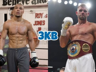 Chris Eubank Jr (left), Billy Joe Saunders